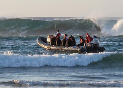 Sardine Run Surf Launching